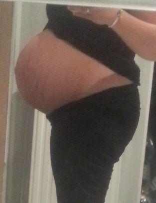 Buikje op uitgerekende datum 40 weken 1 dag later bevallen van een flinke zoon Kenai 4010 gram en 54 cm