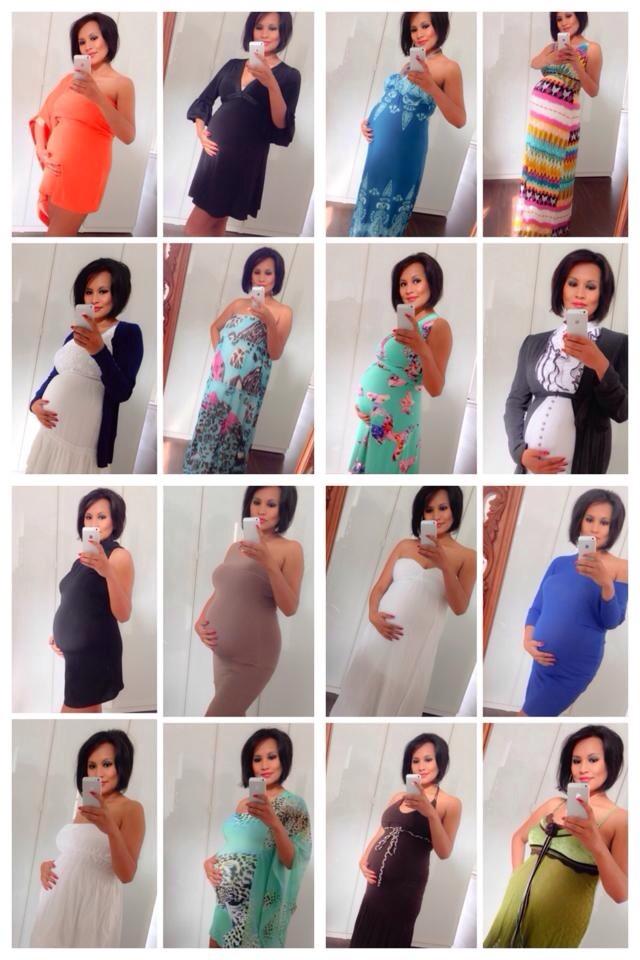 Deze foto's heb ik gemaakt om een statement af te geven. Veel vrouwen voelen zich lelijk en dik wanneer ze zwanger zijn. Terwijl ze juist mooi en sexy zijn. Ik heb zwanger zijn als heel fijn ervaren. Op deze foto was ik zwanger van mijn tweede kind.