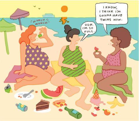 overvloedig witverlies tijdens zwangerschapsdiabetes